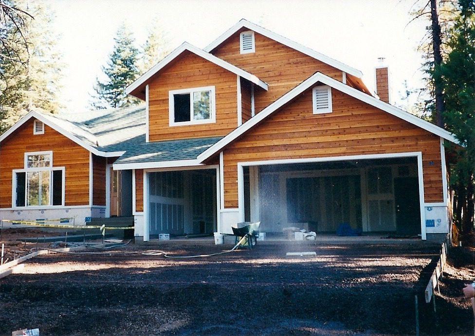 Custom Home With Cedar Siding Gheen Builders